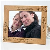 Girlfriends Personalized Picture Frame- 8x10 - 6711-L