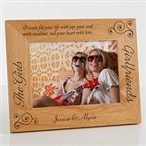 Girlfriends Personalized Picture Frame- 5 x 7 - 6711-M