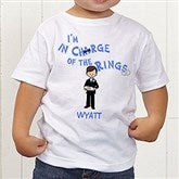 Our Ring Bearer Personalized Character Toddler T-Shirt - 6722-TT