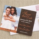 Paisley Save The Date Photo Cards - 6734-C