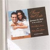 Paisley Save The Date Photo Magnets - 6734-M