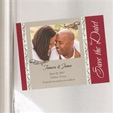 Filigree Save The Date Photo Magnets - 6736-M