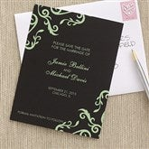 Elegant Custom Save The Date Cards - 6739-C