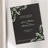 Elegant Custom Save The Date Magnets - 6739-M