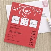 One Love Custom Save The Date Cards - 6740-C