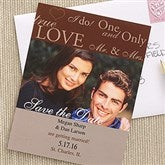 One & Only Save The Date Photo Cards - 6744-C