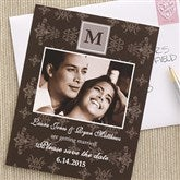 Damask Save The Date Photo Cards - 6745-C