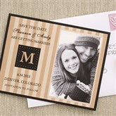 Classic Save The Date Photo Card - 6747-C