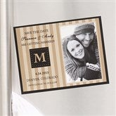 Classic Save The Date Photo Magnet - 6747-M