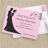 Silhouette Custom Save The Date Cards - 6753-C