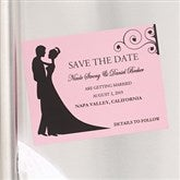 Silhouette Custom Save The Date Magnets - 6753-M