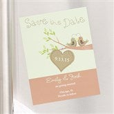 Love Birds Custom Save The Date Magnets - 6754-M