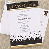Hats Are Off Graduation Invitations - 6773