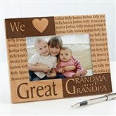 Great Grandparent Personalized Frame- 4x6 - 6788