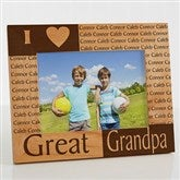 Great Grandparent Personalized Frame- 5 x 7 - 6788-M
