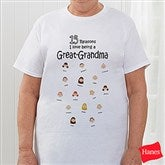 So Many Reasons Personalized Hanes® Adult T-Shirt - 6789-CT