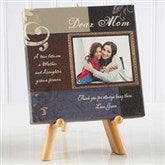 Dear Mom Personalized Photo Canvas Print- 5½ x 5½ - 6792-5x5