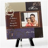 Dear Mom Personalized Photo Canvas Print- 8