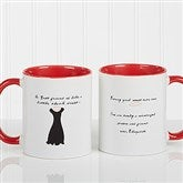 A Best Friend Personalized Coffee Mug 11 oz.- Red - 6838-R