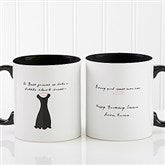 A Best Friend Personalized Coffee Mug 11oz.- Black - 6838-B