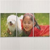 Photo Canvas Split-Panel Print Collection 3pc-12x24 - 6878-3-12x24