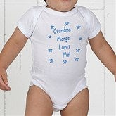 Somebody Loves Me Personalized Baby Bodysuit - 6893-CBB