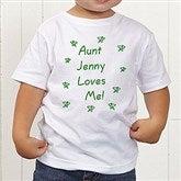Somebody Loves Me Personalized Toddler T-Shirt - 6893-TT