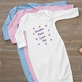 Somebody Loves Me Personalized Baby Gown - 6893-G