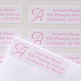 Sassy Name Return Address Labels - 6897