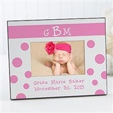 Monogram© Personalized Baby Frame - 6909