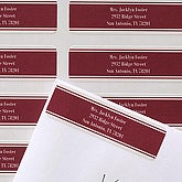 Executive Style Return Address Labels - 6931