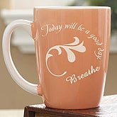Cup of Inspiration Mug- Peach - 6952-PE