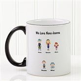 Character Collection Personalized Coffee Mug- 11 oz. - 6977-S