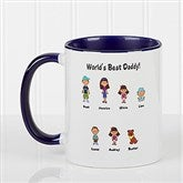 Character Collection Personalized Coffee Mug 11oz.- Blue - 6977-BL