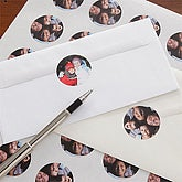 Just Us Personalized Photo Envelope Seals - 6979