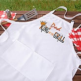 King Of The Grill Personalized Apron - 6994-A
