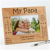 Sweet Grandparents Personalized Frame- 4 x 6 - 6998-S