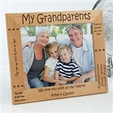 Sweet Grandparents Personalized Frame- 8 x 10 - 6998-L