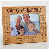 Sweet Grandparents Personalized Frame- 5 x 7 - 6998-M