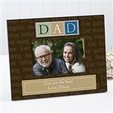 Just For Him Personalized Frame - 7002
