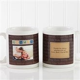 Just For Him Personalized Photo Coffee Mug 11 oz.- White - 7004-S