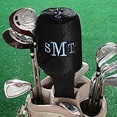 Monogram Golf Club Cover- Raised Monogram - 7034-M
