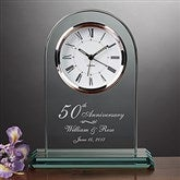 Everlasting Love Anniversary Clock - 7044