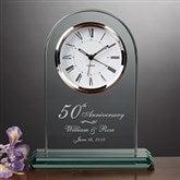 Everlasting Love Anniversary Clock - 7044