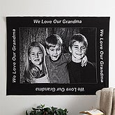 Custom Border Photo Afghan - 40