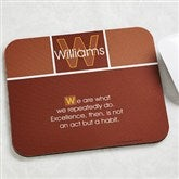 34 Quotes Personalized Mouse Pad - 7072