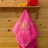 Go Fish! Beach Towel - Flamingo Pink - 7119-P