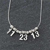 Date Necklace - 7131D-D