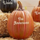 Our Family Patch Personalized Pumpkins- Large - 7144L