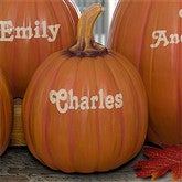 Our Family Patch Personalized Pumpkins - Small - 7144S